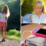 Kleiderstange, Neon-Pink und HelloKitty
