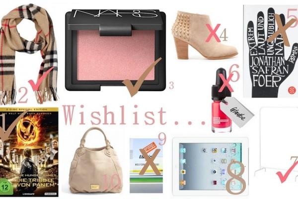 Wishlist #3