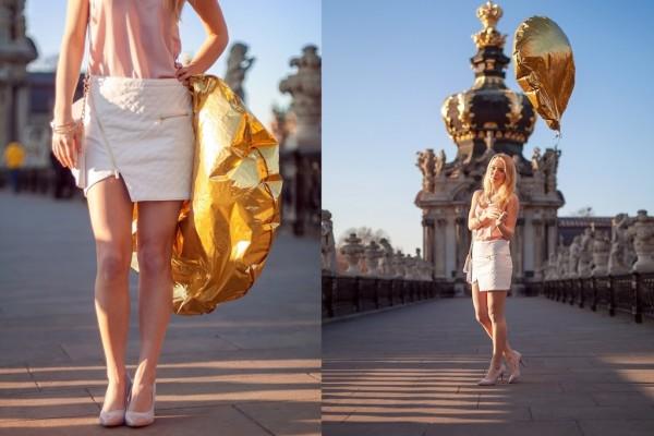 Ich will ein goldener Ballon sein. Vielleicht nur nicht ganz so rund.