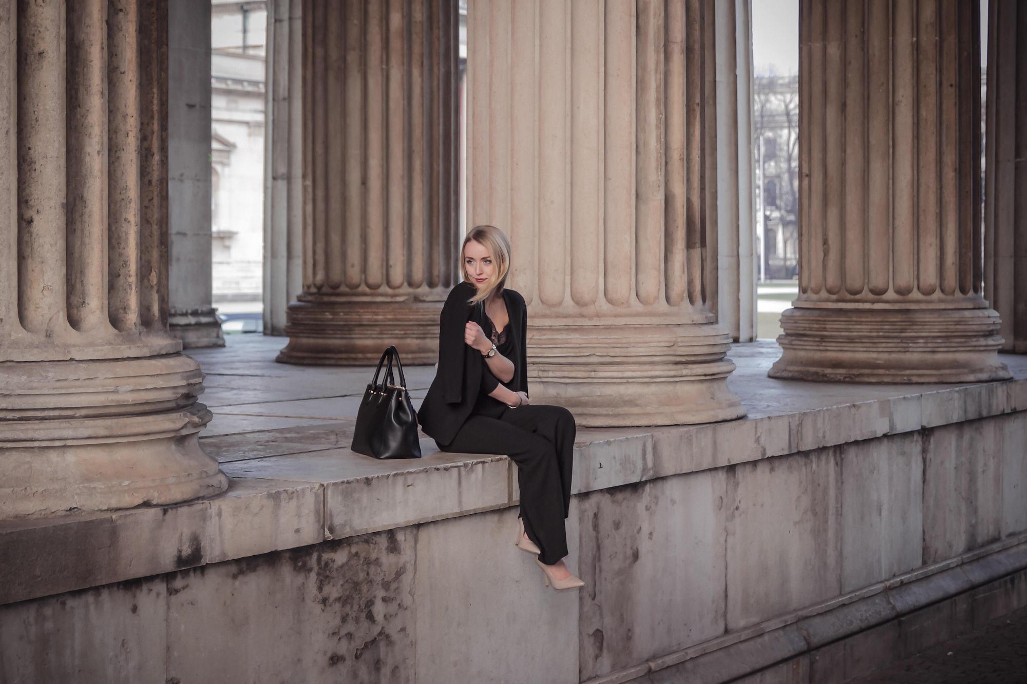 Hose, Schuhe – Forever21 / Oberteil – Zara / Blazer – Asos ...