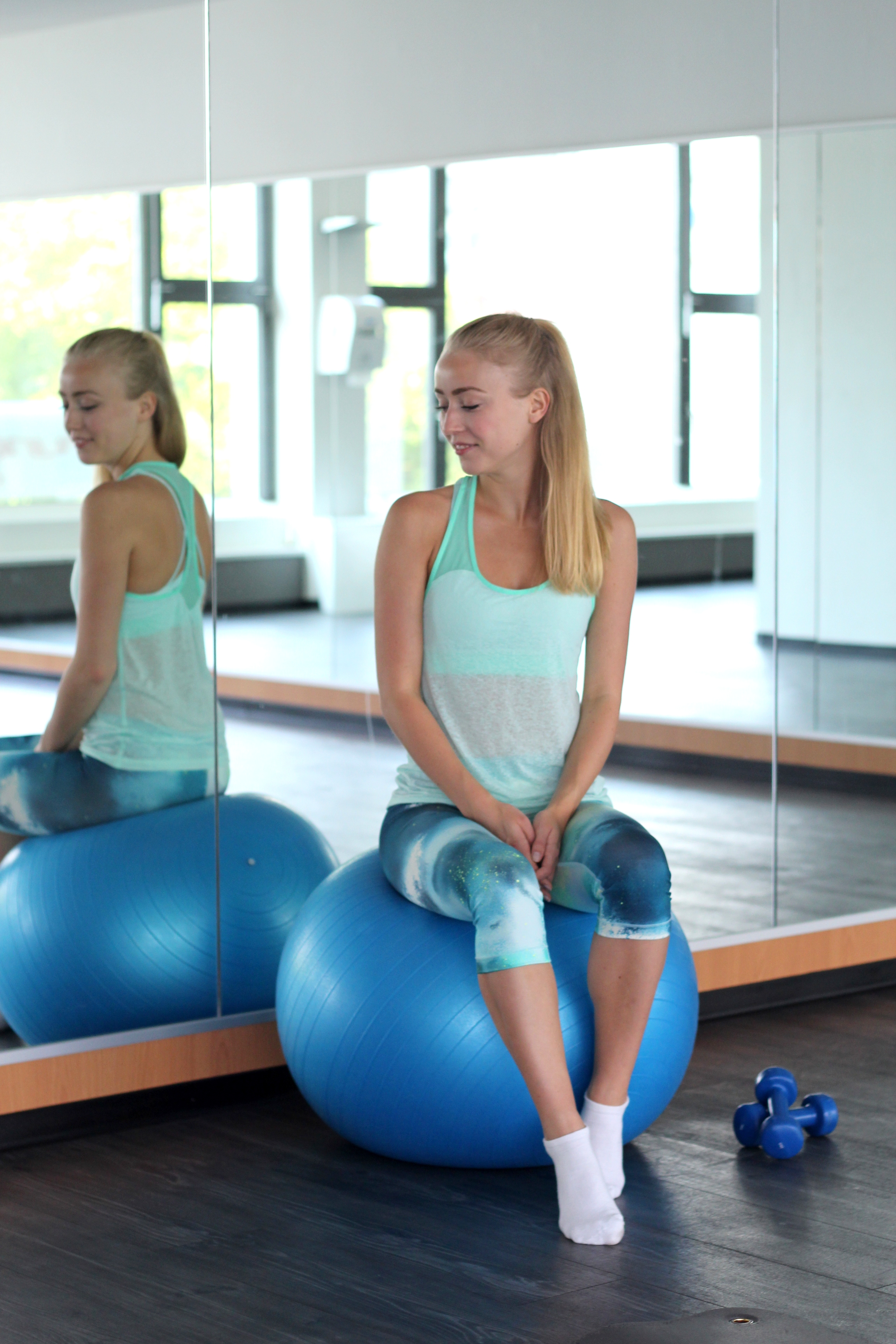 Fitness Routine - Los gehts! - Luise Morgeneyer